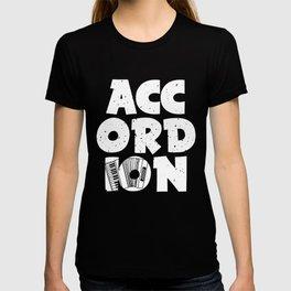 Accordion Concertina Melodeon Piano Accordion Gift T-shirt