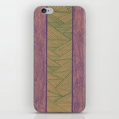 Green and Purple iPhone & iPod Skin