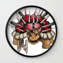 DEATH TURTLE Wall Clock