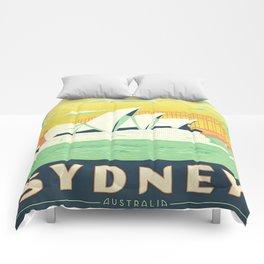 Sydney Australia Vintage Comforters