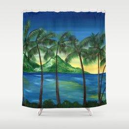 Hawaiian Seabreeze Shower Curtain