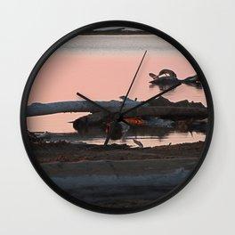 Swan or Driftwood Wall Clock