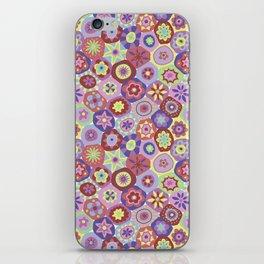 Millefiori-Coolio Colors iPhone Skin