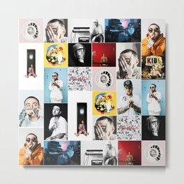 Mac Miller Rapper Music Singer Hip Hop Star Poster Art Fabric Hot Decor Metal Print