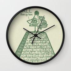 I See ALL Wall Clock