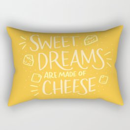 Cheese Dreams Rectangular Pillow