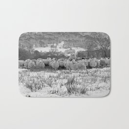 Sheep on the Brecon Beacons.Wales. Bath Mat