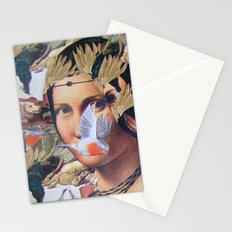 LA BELLE FERRONIERE EN CRAQUELURES Stationery Cards