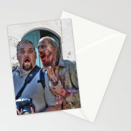 Cemetery Zombie By Liane Wright Stationery Cards