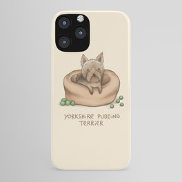 Yorkshire Pudding Terrier iPhone Case