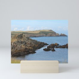 Isle Head View, Isle of Whithorn, Scotland Mini Art Print