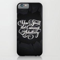 The Seventh Commandment iPhone 6s Slim Case
