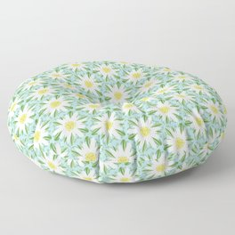 Edelweiss On Repeat Floor Pillow