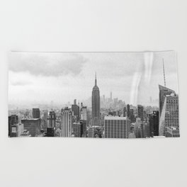 New York State of Mind Beach Towel