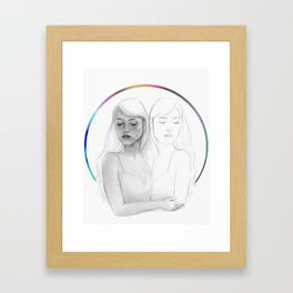 Emotional Calibration Framed Art Print