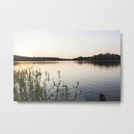 Sunset at Okmulgee Lake Metal Print