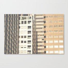 Downtown SF Canvas Print
