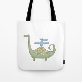 Dino Friends Tote Bag