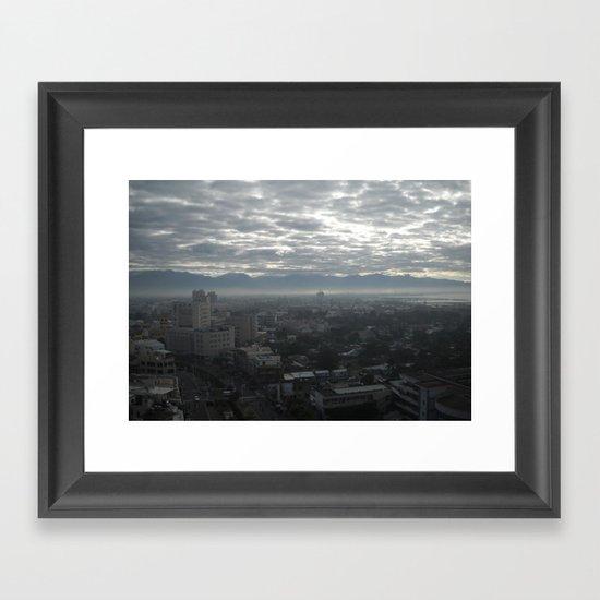 Moody Framed Art Print