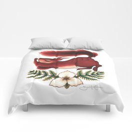 Squirrel Stretch Comforters