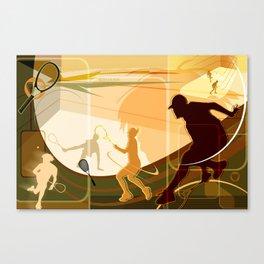 Racquetball Canvas Print