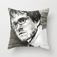 will graham Throw Pillows featuring Will Graham by Pruoviare
