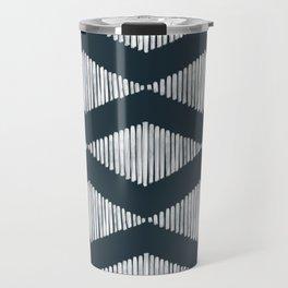 Acoustic Wave Navy Travel Mug