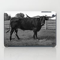 bull iPad Cases featuring Bull by vogel