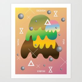 Design With Fun ~ chapter 04 Art Print