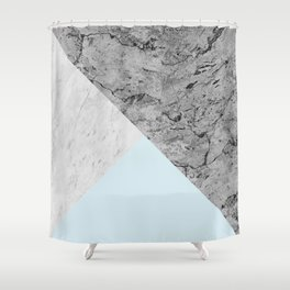 Geometric and modern art XX Shower Curtain