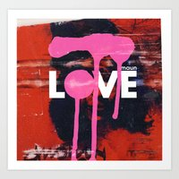 maun love Art Print