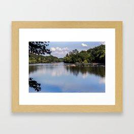 Broad River Framed Art Print