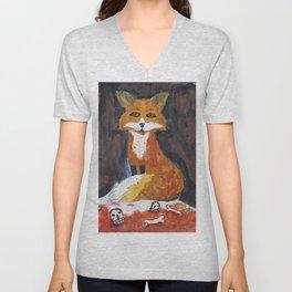 dark fox Unisex V-Neck