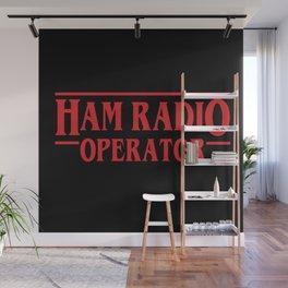 Strange Ham Radio Operator Wall Mural