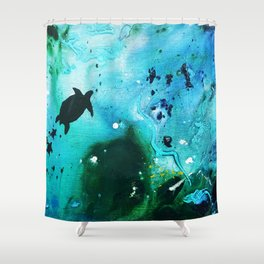 Under the Sea Collections 1017 Shower Curtain