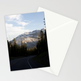 Mountains gone by Stationery Cards