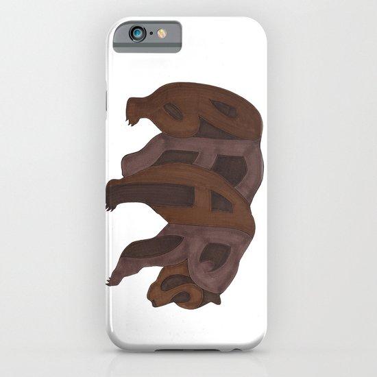 Bears Typography iPhone & iPod Case