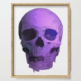 Skull - Violet Serving Tray