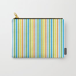 Colourful Pinstripes Carry-All Pouch