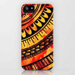 Lava Flows iPhone Case