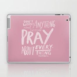 Dont Worry, Pray x Rose Laptop & iPad Skin