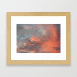 Sky 11/12/2010 17:19 Framed Art Print