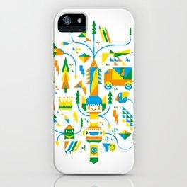 Shape-A-Licious iPhone Case