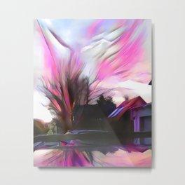 Wintrous Sunset Metal Print