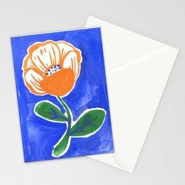 My Orange Flower Stationery Cards