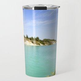 the artificial lake Travel Mug