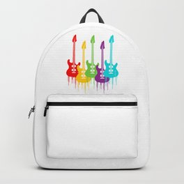 Colorful Guitars | Music is the color for the ears Backpack