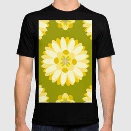 Inspired By Memory of Grandma's Retro Wallpaper Pattern T-shirt