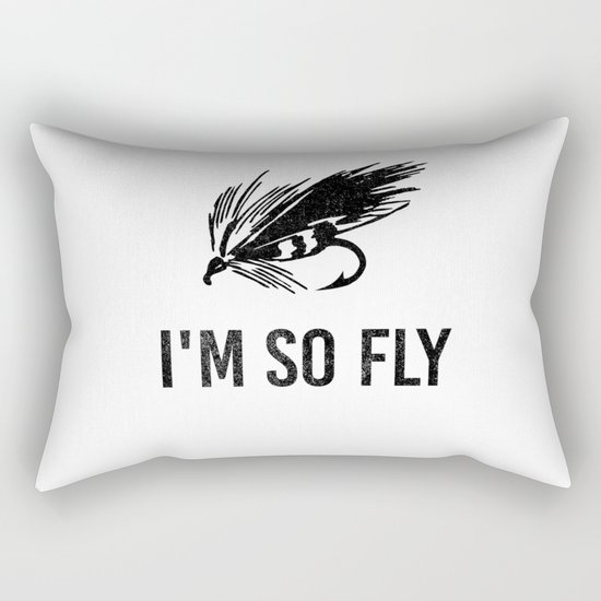 I'm So Fly Fishing Hook Flies Fisherman Gift by born-design