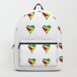 Flag of Guyana 2  -Guyanese,Guyanes,Georgetown,Linden,Waiwai Backpack